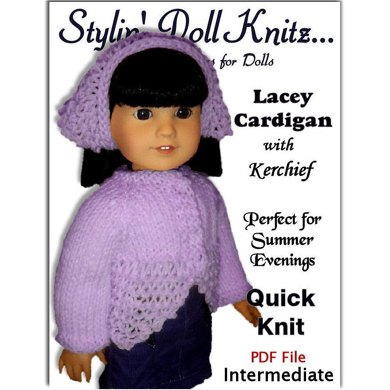 Knitting Pattern, fits American Girl and all 18 inch dolls. (Gotz) 019