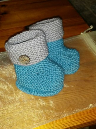 Mini Ugg Boots Knitting Project By Sarah M Loveknitting