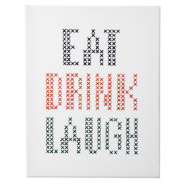 Anchor Big & Easy Cross Stitch - EAT DRINK