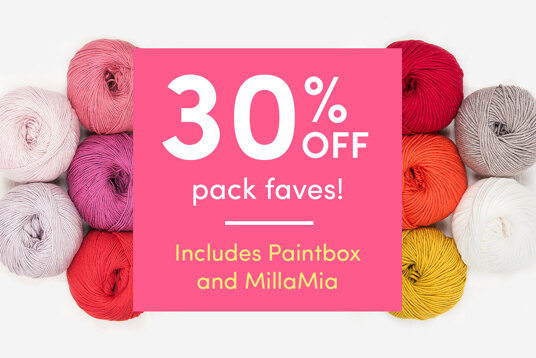 30 percent off pack faves! Includes Paintbox and MillaMia
