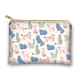 Lady Jayne Glam Bag - Sketched Cats