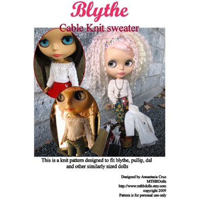 Blythe cable knit sweater