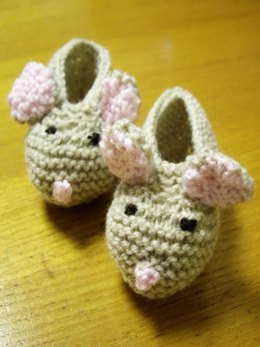 Baby Dormouse Slippers