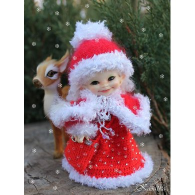 Miss Santa for RealPuki dolls