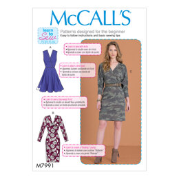 McCall's Misses' Dresses M7991 - Sewing Pattern