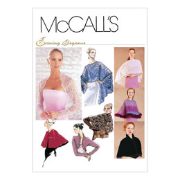 McCall's Misses' Evening Cover-Ups M3033 - Sewing Pattern