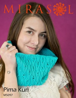 Cowl and Scarf in Mirasol Pima Kuri - M5097