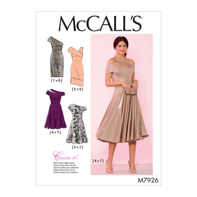 McCall's Misses' and Women's Special Occasion Dresses M7926 - Sewing Pattern