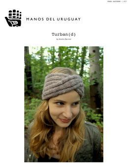 Turban headband in Manos del Uruguay Clasica Wool