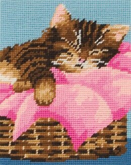 Anchor Kitten Tapestry Kit