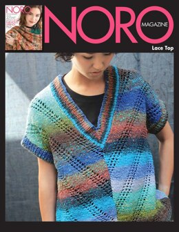 Lace Top in Noro Taiyo - 14867 - Downloadable PDF
