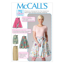 McCall's Misses' Skirts M7129 - Sewing Pattern