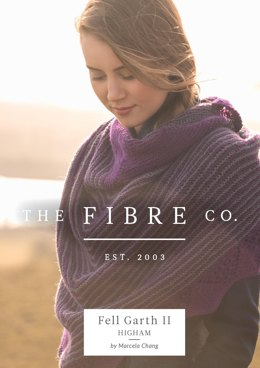 Higham Shawl in The Fibre Co. Cumbria Fingering - Downloadable PDF
