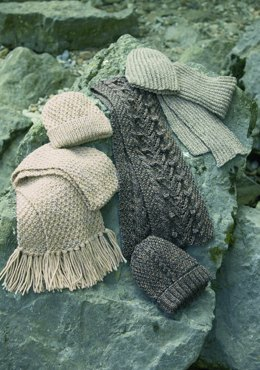 Scarves and Hats in Stylecraft Life DK, Aran and Chunky - 8287