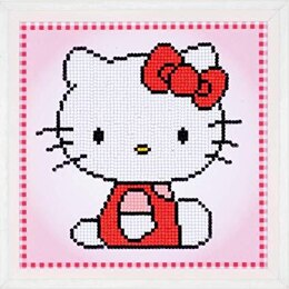 Vervaco Hello Kitty Diamond Painting Kit - Multi