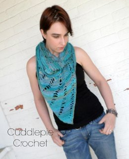 Shredded Waves Infinity Scarf