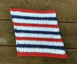 Stars & Stripes Washcloth