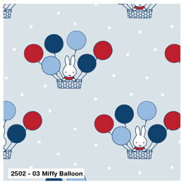 Visage Textiles Miffy Cut to Length - Balloon