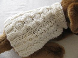 Stepping Stones Aran Dog Sweater