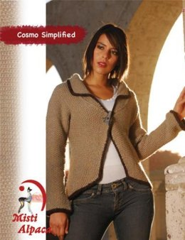 Cosmo Simplified Jacket in Misti Alpaca Chunky - 2003