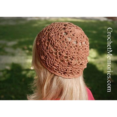 0747 Lady's Lace Double Pineapple Hat