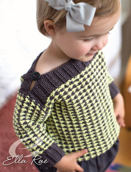Evie Sweater in Ella Rae Phoenix - ER20-03 - Downloadable PDF
