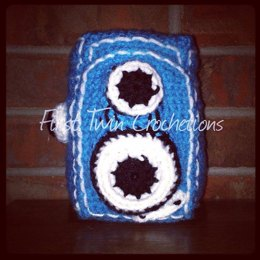 Vintage Camera Toy Crochet Pattern, camera amigurumi, camera toy, vintage camera, camera, photography, photo prop, crochet camera, pattern