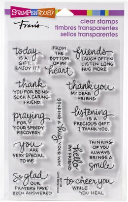 Stampendous Perfectly Clear Stamps - From My Heart
