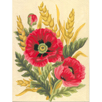 Collection D'Art Poppies & Wheat Tapestry Kit