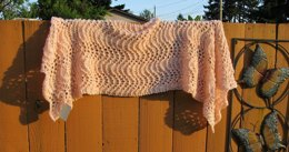 Maggie's Old Shale Shawl