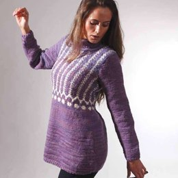 Alberta Tunic in Manos del Uruguay Clasica Wool Space-Dyed