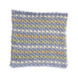 Long Beach Washcloth in Lion Brand Cotton-Ease - 90392AD