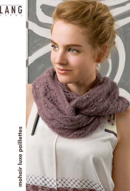 Snood in Lang Yarns Mohair Luxe Paillettes