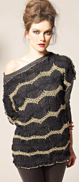 Damenpulli in Austermann Merino Silk & Palila - 116 - Downloadable PDF
