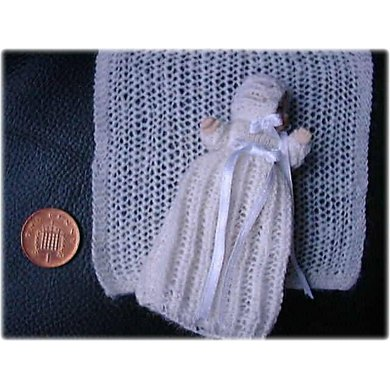 1:12th scale Winter Christening set