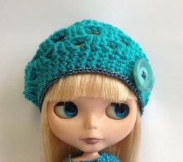 Blythe crochet beret - 3 sizes