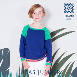 Lucas Jumper in MillaMia Naturally Soft Cotton - Downloadable PDF