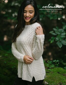 Colmena Sweater in Malabrigo Silky Merino - Downloadable PDF