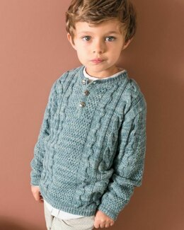 Germain Sweater in Phildar Phil Nature - Downloadable PDF