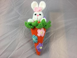 Bunny In the Carrot Patch