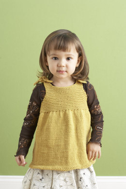 Tea Party Top  in Lion Brand Cotton-Ease - 90212AD