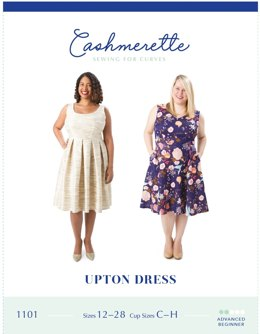 Cashmerette Upton Dress 1101 - Paper Pattern Size 12 - 28
