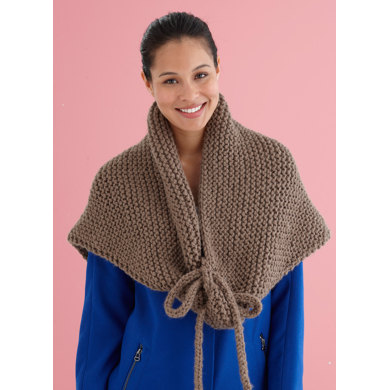 Grande Wrap In Lion Brand Wool Ease Thick Quick L20302 Crochet