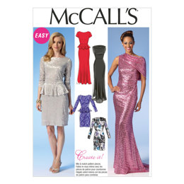McCall's Misses' Dresses M7047 - Sewing Pattern