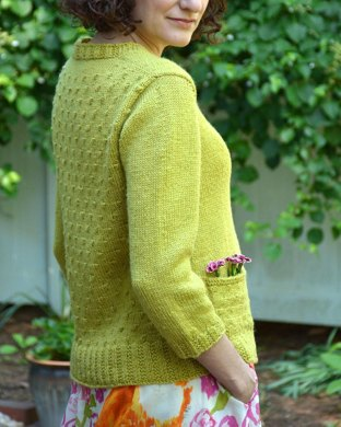 Dots and Knots Cardigan