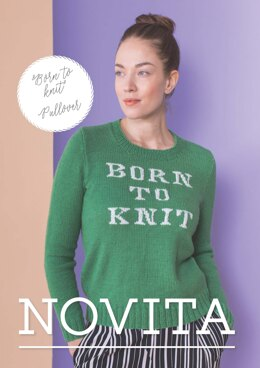 Born To Knit Pullover in Novita Nalle - Downloadable PDF
