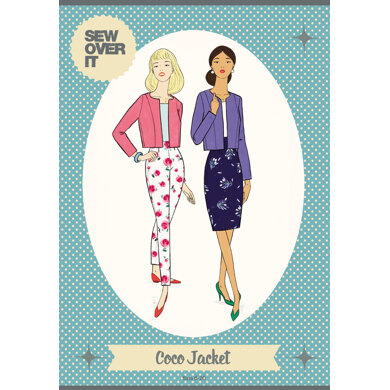 Sew Over It Coco Jacket Sewing Pattern - Downloadable PDF, Size UK 8-20