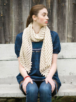Courant Scarf in Berroco Vintage DK