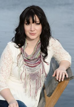 Among the Wildflowers Cowl in Classic Elite Yarns Bella Lino - Downloadable PDF