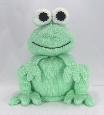 Frog Toilet Roll Cover Knitting Pattern By Knitting By Post